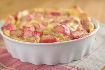 Gordon Ramsay – illatos Rebarbarás morzsa Süti