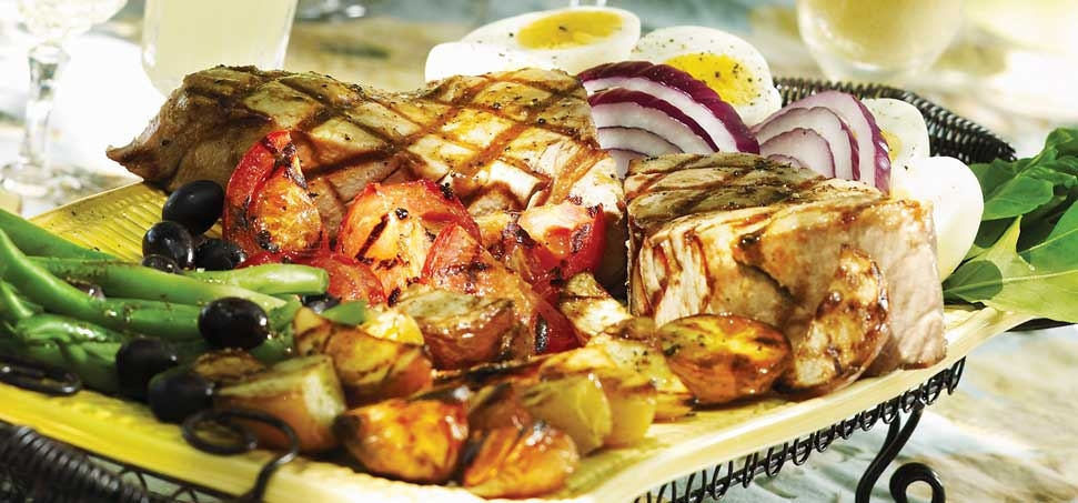 Grill Tonhal saláta