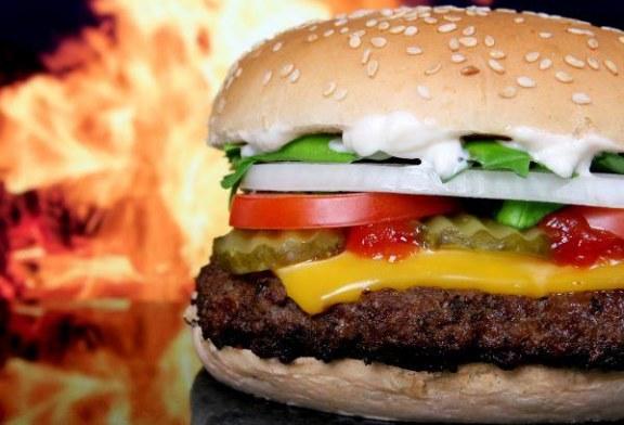 Pikáns Hamburger