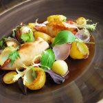 Chilis-Petrezselymes krumpli – Töltött Tintahallal