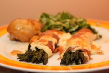 Gordon Ramsay – Zöld spárga Prosciuttoval és sajttal
