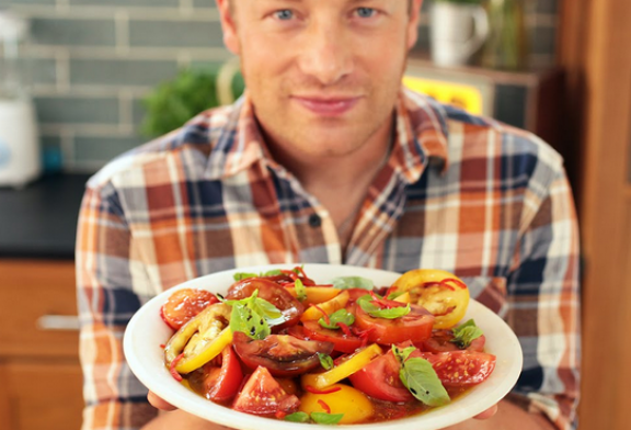 Jamie Oliver – Alap Paradicsom saláta receptje magyarul – videó