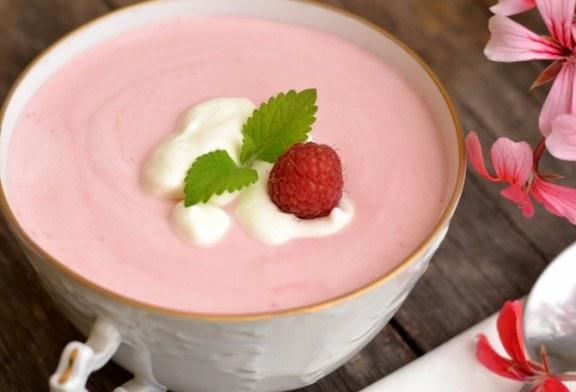 Joghurtos – Málna Krémleves