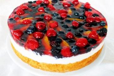 TúróKrémes – Gyümölcs Torta
