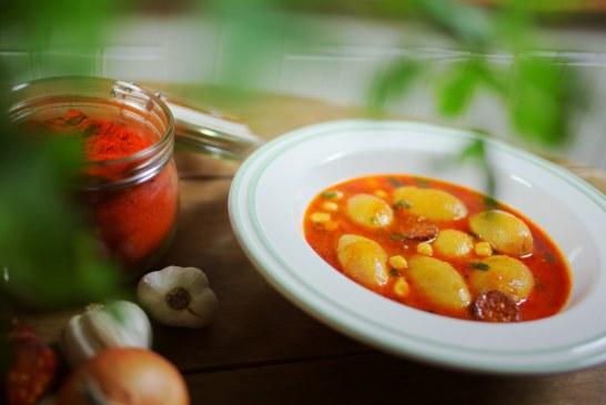 Paprikás Krumpli – Újkrumpliból