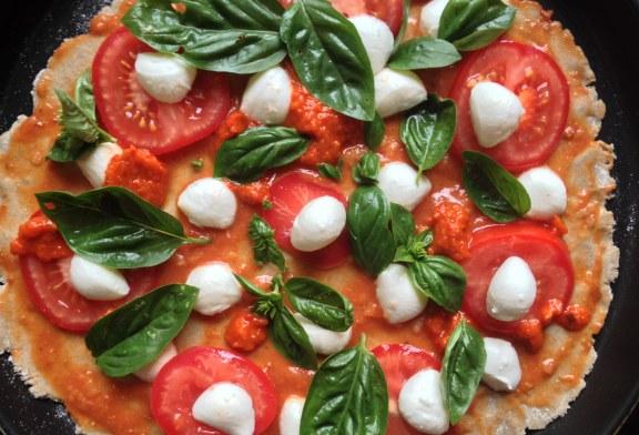 Pizza Margherita – Otthon és Egészségesebben
