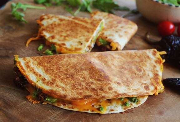Wooow – Chilis Quesadilla Poblano páccal