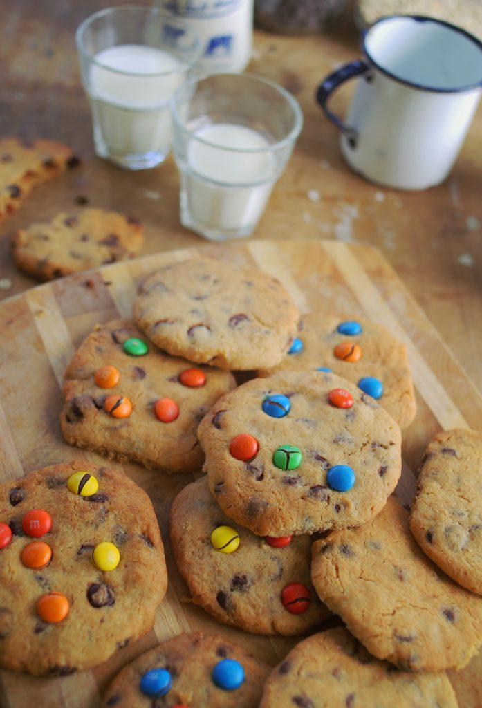 Amerikai csokis cookie
