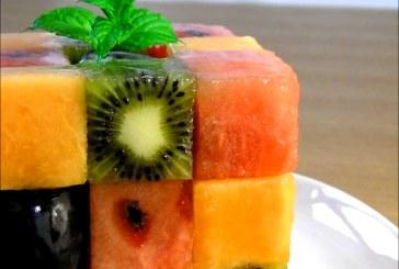 Így csinálj – Rubik kockát gyümölcsökből – Videó