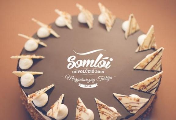 Somlói revolúció torta receptje – videóval