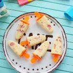 Gyors házi fagyi 1.0 – Tejberizs jégkrém rebarbarával