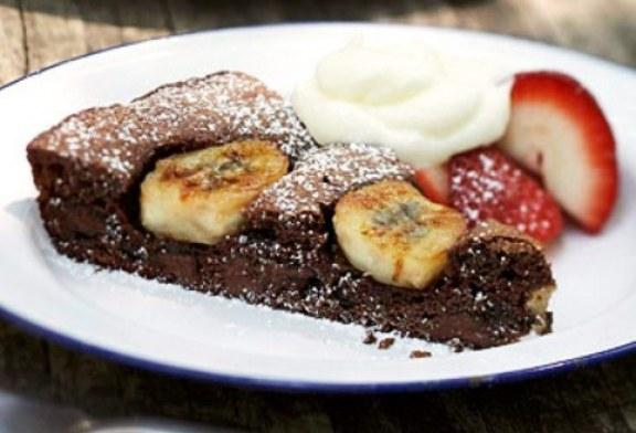 Banános brownie – Ami még az alakunkat is kíméli