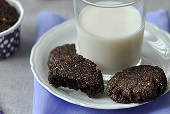 Csokis-diós keksz