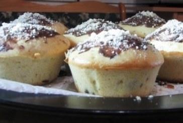 Ha csak 10 perced van! – Gyors vérnarancsos, diós, csokis muffin