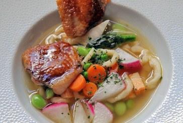 Pirított csirke Újházi zöldségekkel