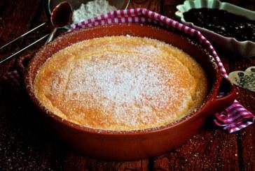 Bögrés császármorzsa a sütőből, recept