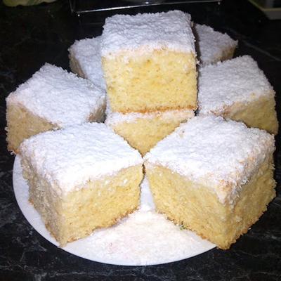 bögrés raffaello sütemény