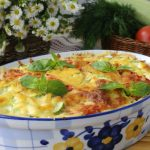 Egyszerű cukkinis – paradicsomos tészta