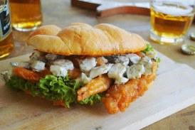 Deluxe rántotthúsos szendvics, recept