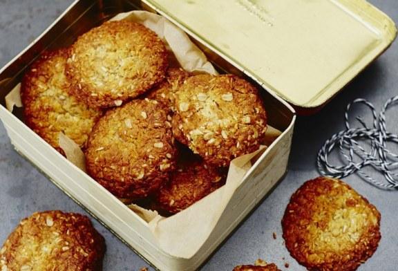 Jamie Oliver féle – Anzac zabpelyhes keksz