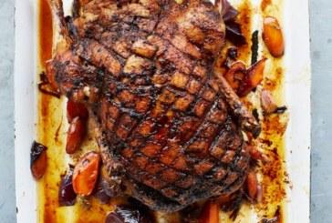 Jamie Oliver – Sült Kacsa, fűszeres-karácsonyi ízzel – Marsala mártással