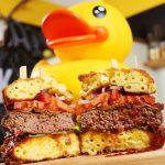 Mac and cheese burger, recept