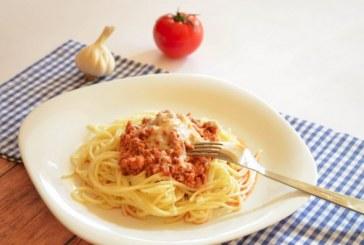 Spagetti à la bolognaise, recept