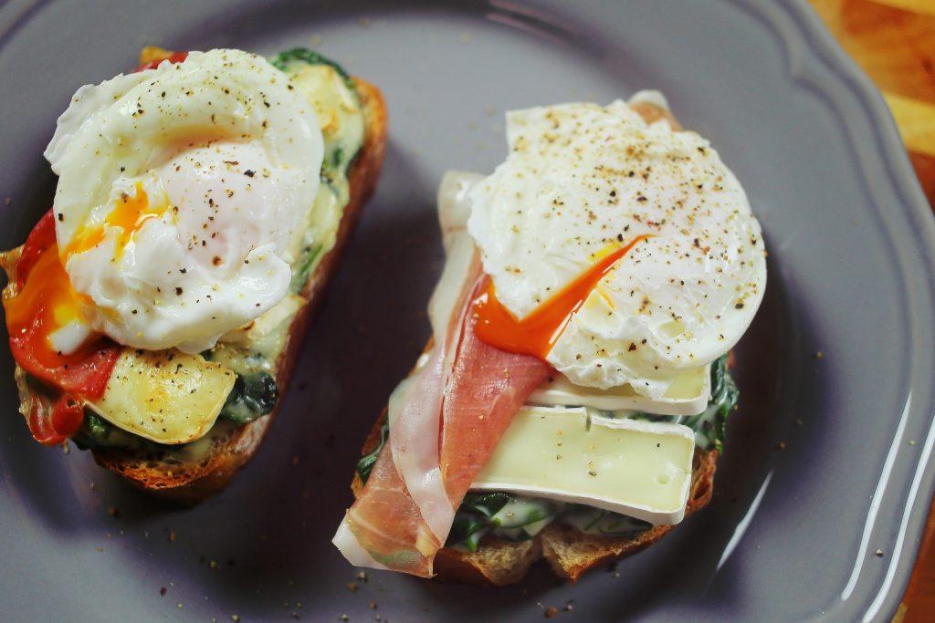 Spenótos-camembert krémes szendvics