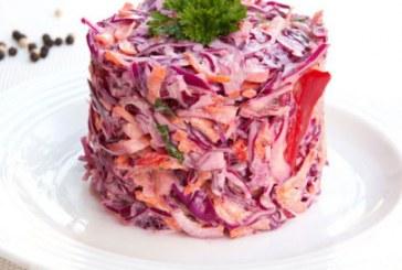 Vöröskáposzta saláta, recept