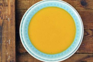 Gyömbéres, narancsos sárgarépakrémleves