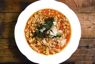 Olasz babos tészta (Pasta e fagioli)