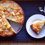 Egyszerű körtés sütemény (gluténmentes)