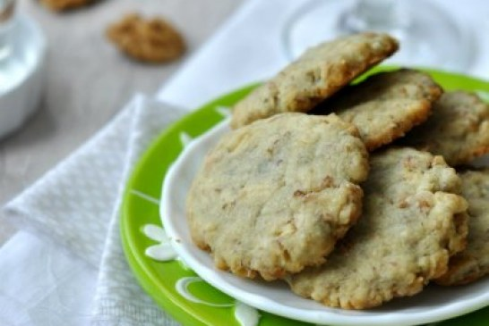 Meccsnéző kekszek – gorgonzola-s diós keksz