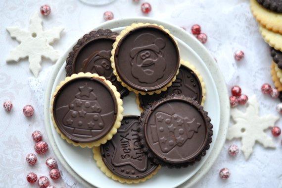 Nutellás csokis keksz