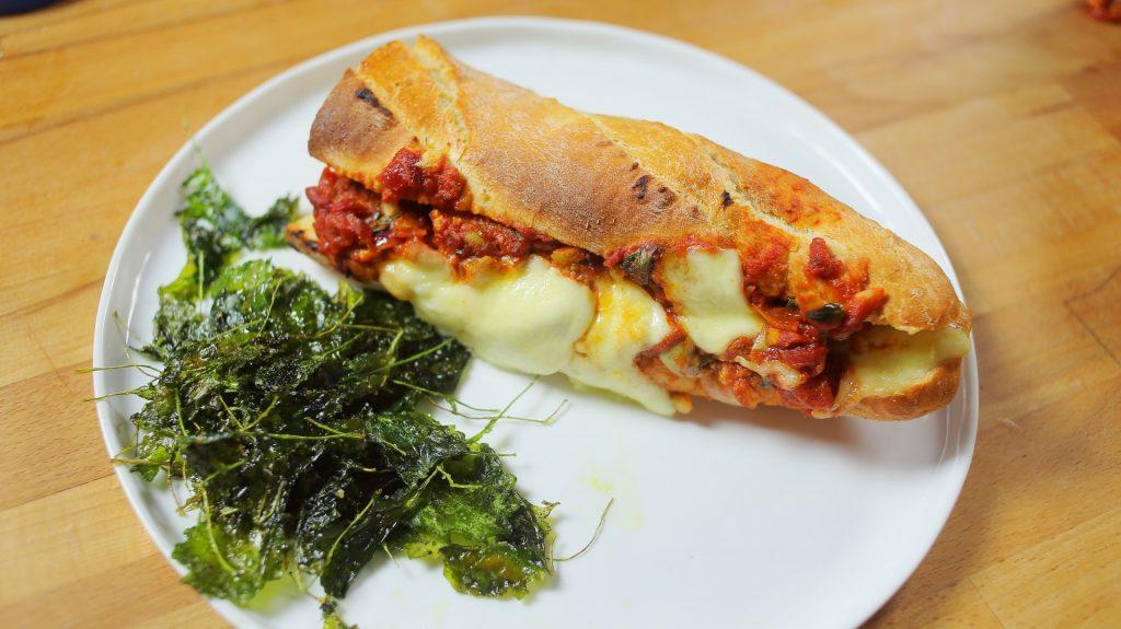 olasz csirkés szendvics