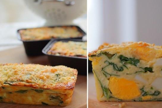 Azannnnyát: Spenótos tojásos szuflé … recepet