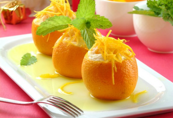 Meleg töltött narancs