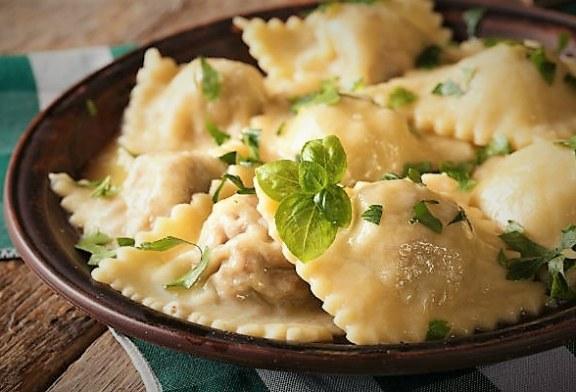 Darált húsos ravioli ( Az olaszok is így csinálják), recept