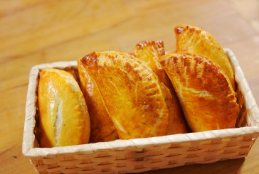 Gombás empanada – recept