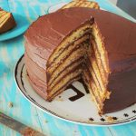 Óriási csokitorta – recept