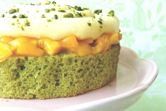 (passió habos) PISZTÁCIA TORTA (mangóval)