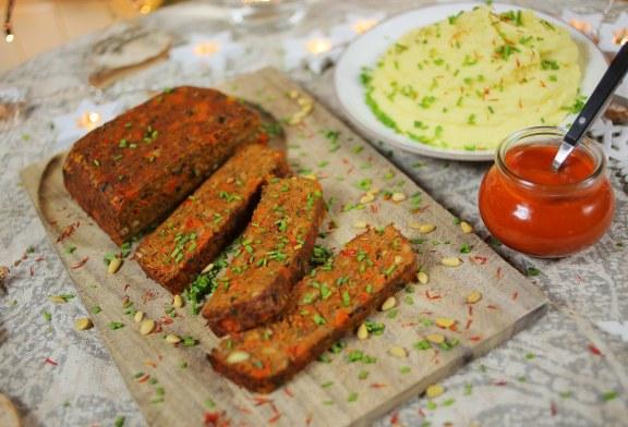 Egy vega VAGDALT, aminek frankón hús íze van