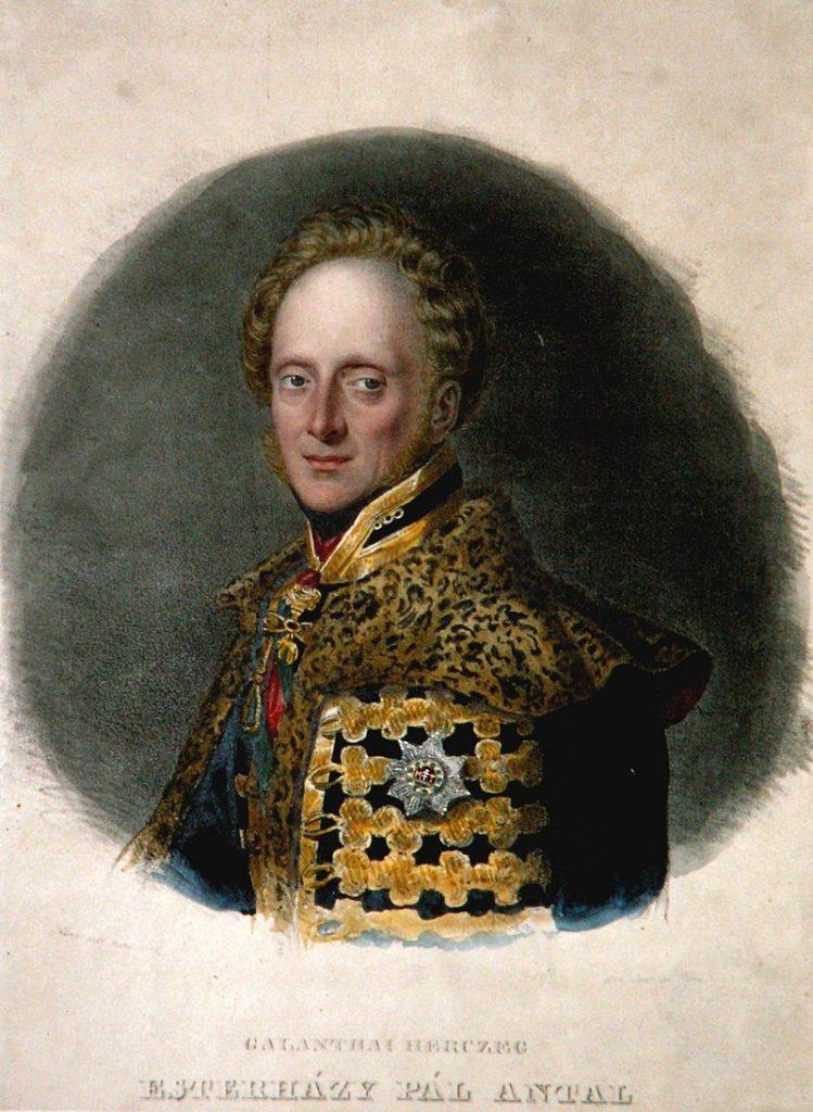 eszterhazy pál antal herceg