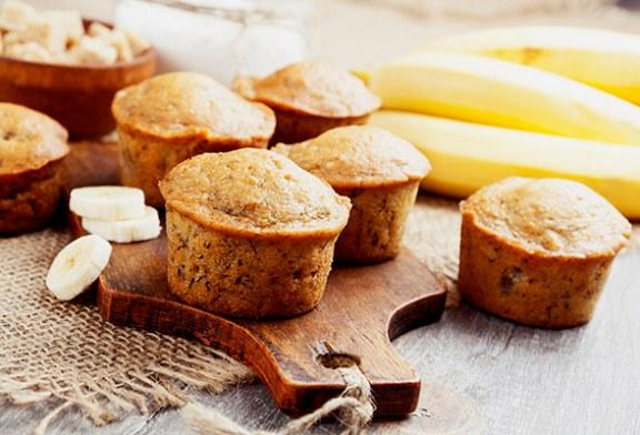 Hipergyors banános muffin