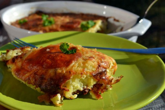Triplasajtos csőben sült krumpli recept
