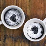 5 perces: Gyors bögrés piskóta – recept