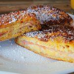 Monte Cristo szendvics recept