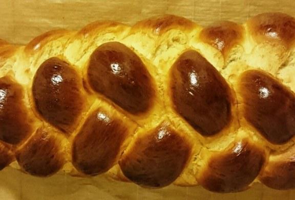Kipróbáltan jó Húsvéti, házi fonott kalács – recept