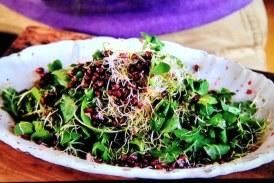 Jamie Oliver féle gránátalmás zöldsaláta, recept
