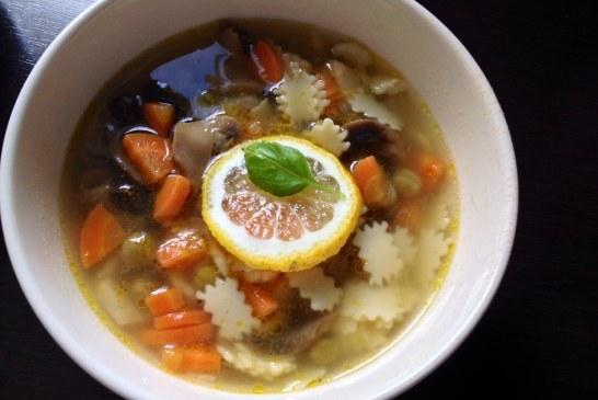 Gyors tavaszi leves gombával – recept